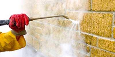 Vysokotlaké mytí fasád